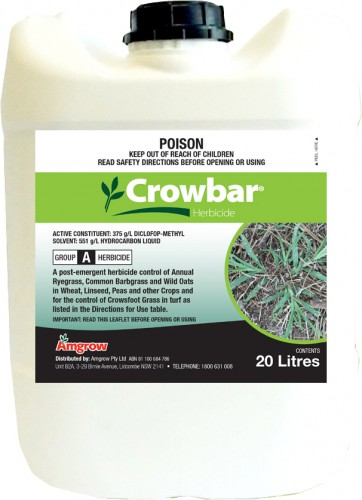 Crowbar bottle 20L